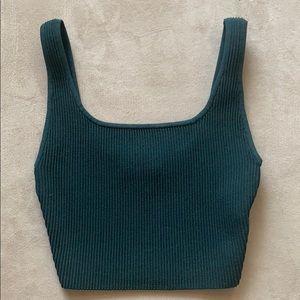 Aritizia Arjun Knit Crop Top